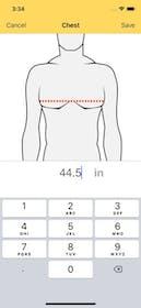 Dress Measurement Gallery Image #3