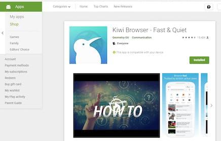 Kiwi Browser Gallery Image #0