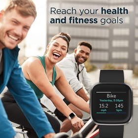 Fitbit Versa 2 Fitness-Tracking Smartwatch Gallery Image #4