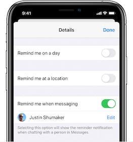 iOS Reminders Gallery Image #4