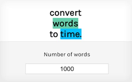 Convert Words to Time Gallery Image #2