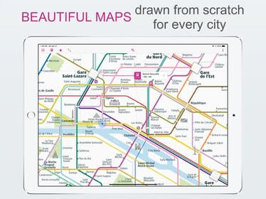 City Rail Map Gallery Image #5