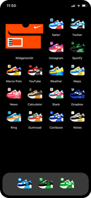 Air Max 90 iOS Icons Gallery Image #1
