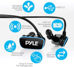 Pyle Flextreme MP3 Sports Earbuds Gallery Image #1