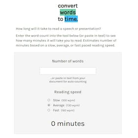 Convert Words to Time Gallery Image #1