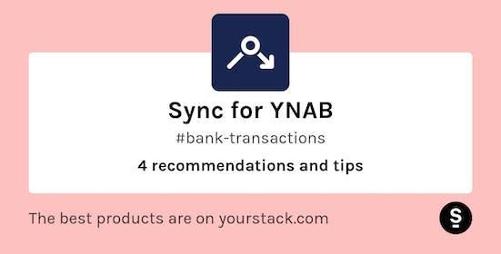 Sync for YNAB Gallery Image #1