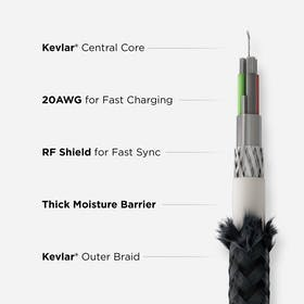 Nomad Kevlar USB-C to Lightning Cable Gallery Image #3