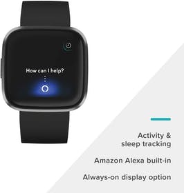 Fitbit Versa 2 Fitness-Tracking Smartwatch Gallery Image #1