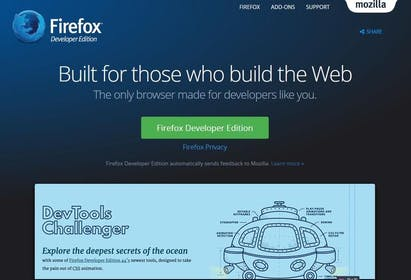Firefox Development Gallery Image #3