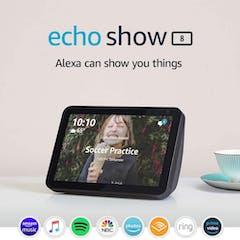 Amazon Echo Show 8 media
