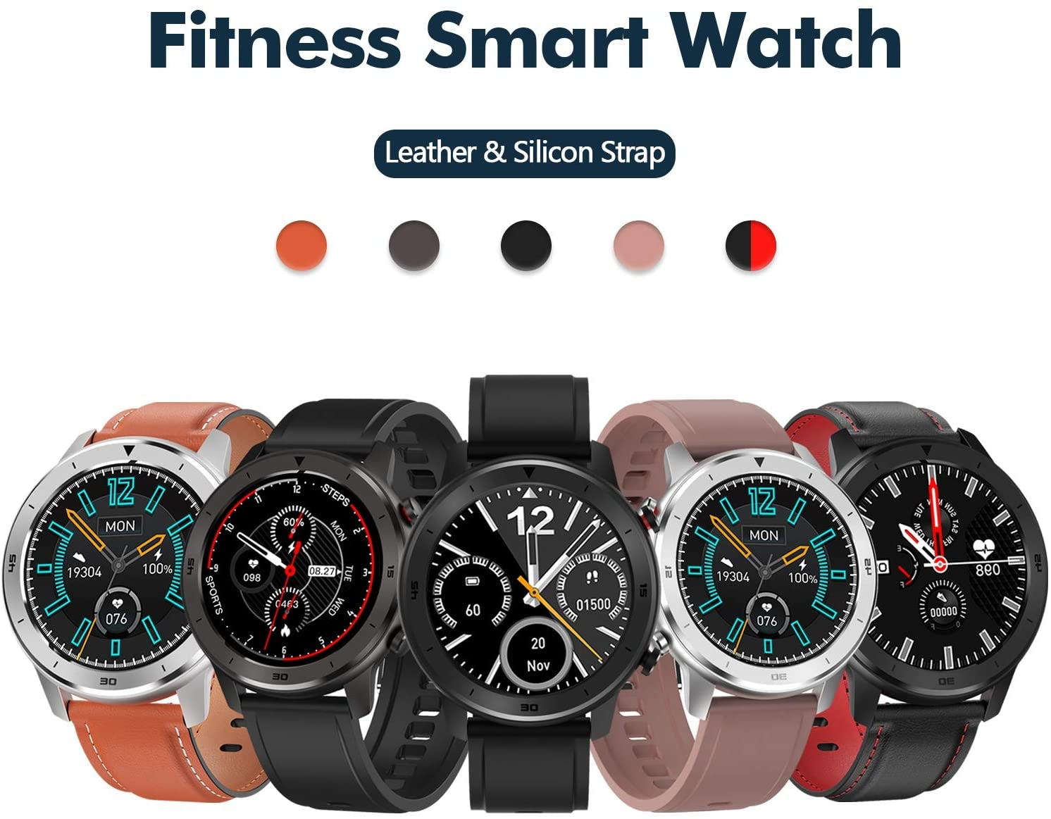 Popglory Smartwatch HR Gallery Image #3