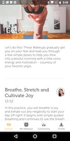 yoga wake up Gallery Image #2