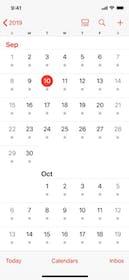 Apple Calendar Gallery Image #0
