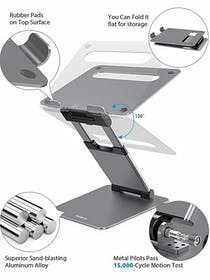 Nulaxy C5 Laptop Stand Gallery Image #3