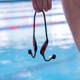 Swimbuds MP3 Waterproof Earbuds Gallery Image #4