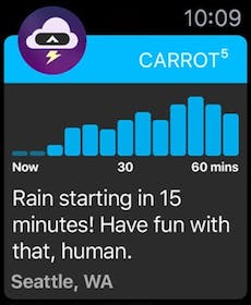 CARROT Weather Gallery Image #22