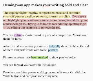 Hemingway App Gallery Image #1