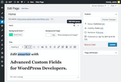 Advanced Custom Fields (ACF) Gallery Image #0