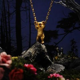 Handcuffed Bear Necklace Gallery Image #0