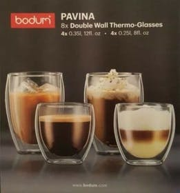 Bodum PAVINA Double Wall Glasses Gallery Image #1